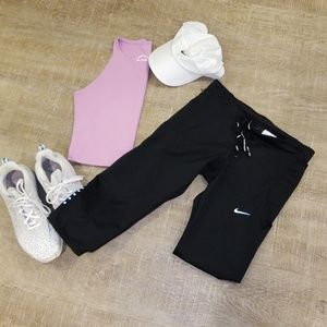Cropped Nike Running Tights